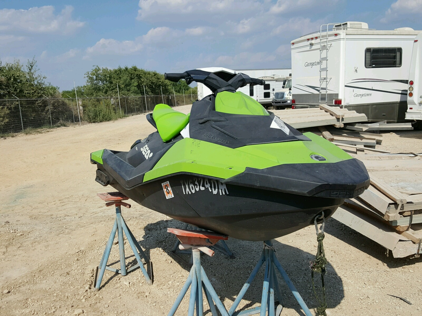 Salvage 2016 Seadoo JETSKI for sale