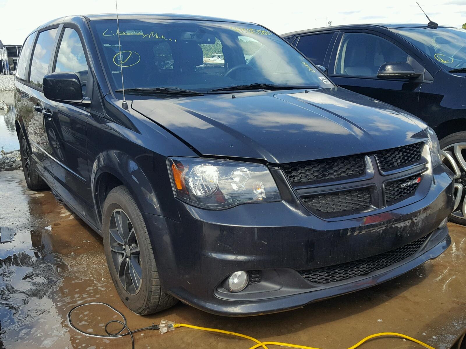 Salvage 2016 Dodge GRAND CARAVAN for sale