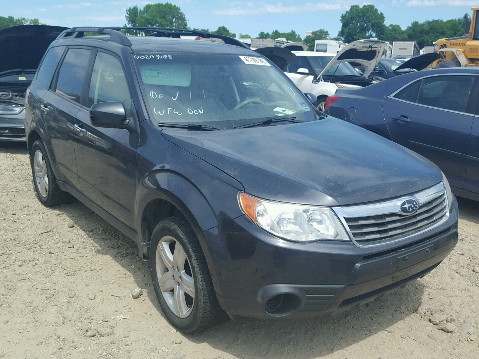 2010 Subaru Forester 2 for sale at Copart Des Moines IA Lot