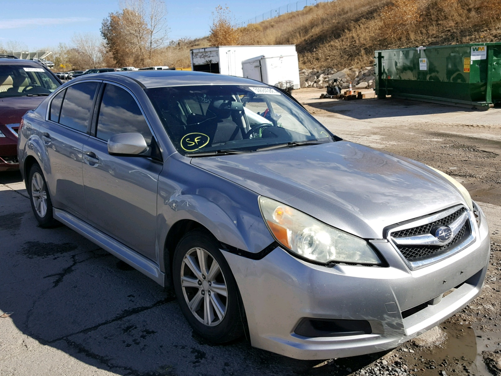 2010 Subaru Legacy 25 25l 4 In Co Denver South