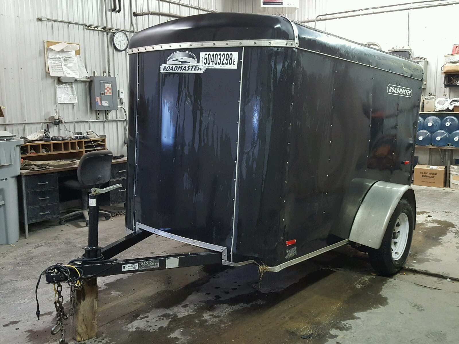 5DT211C1541050182 | 2004 BLACK Utility Trailer on Sale in MN