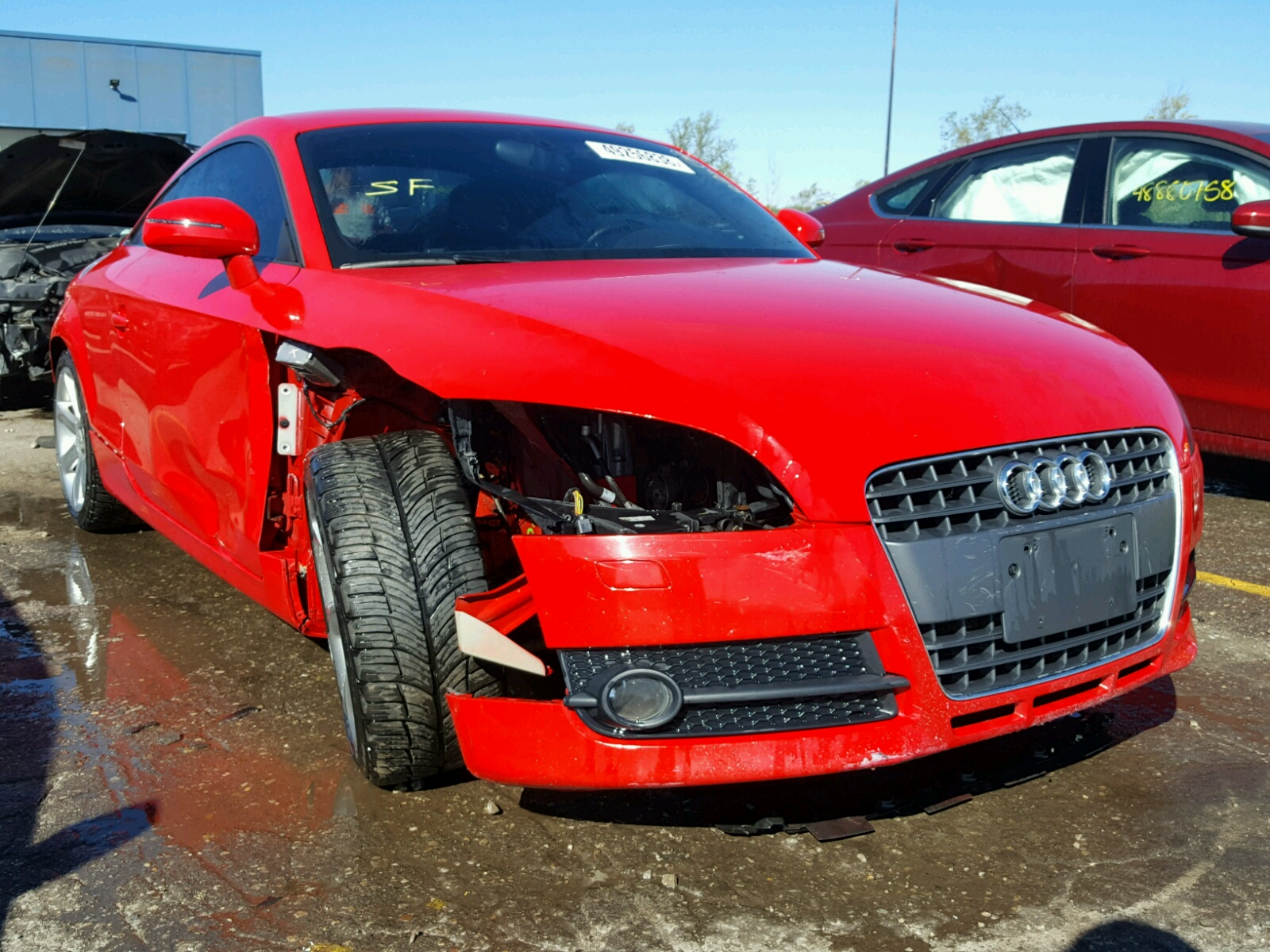 Salvage 2008 Audi TT 2.0T for sale