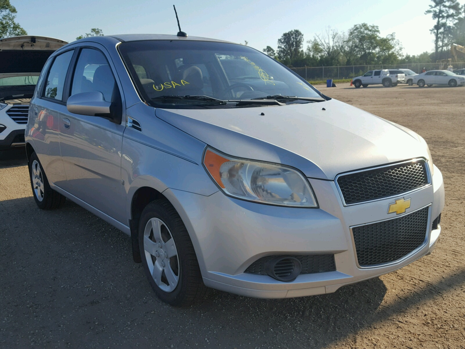 Salvage 2009 Chevrolet AVEO LS for sale