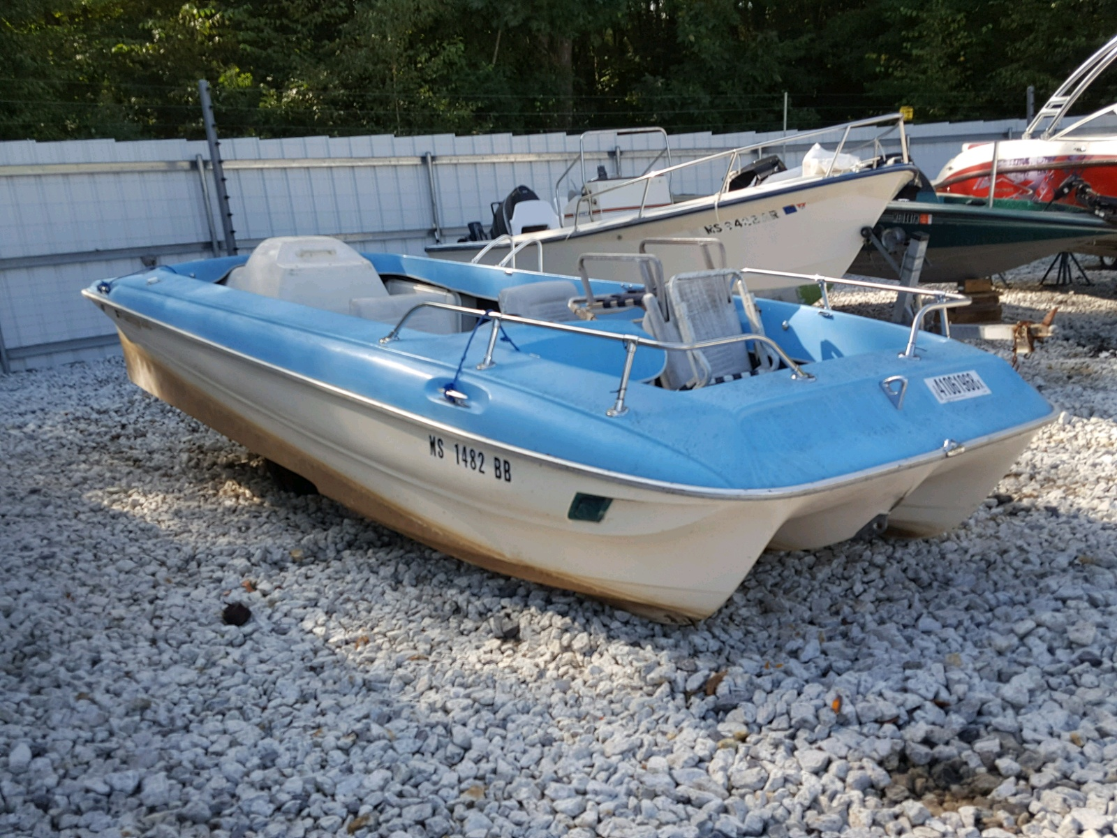 Salvage 1964 OMC BOAT for sale