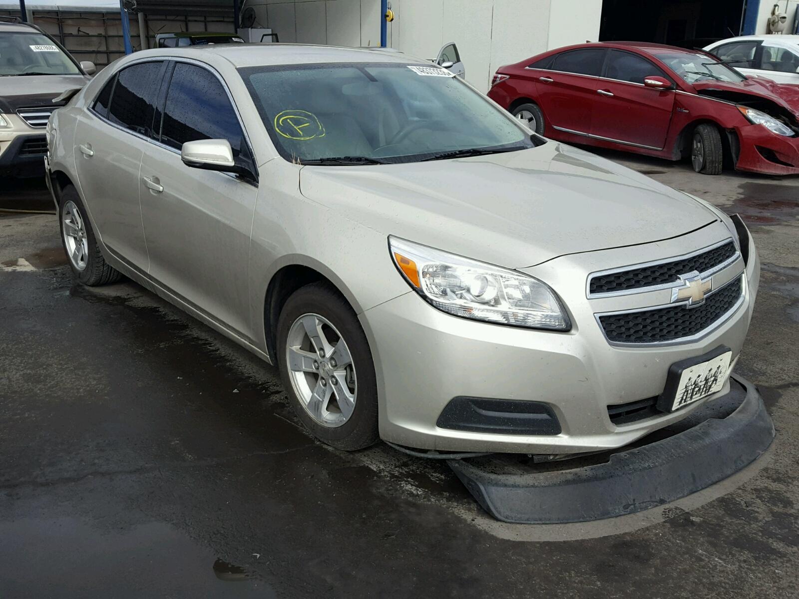 Salvage 2013 Chevrolet MALIBU 1LT for sale