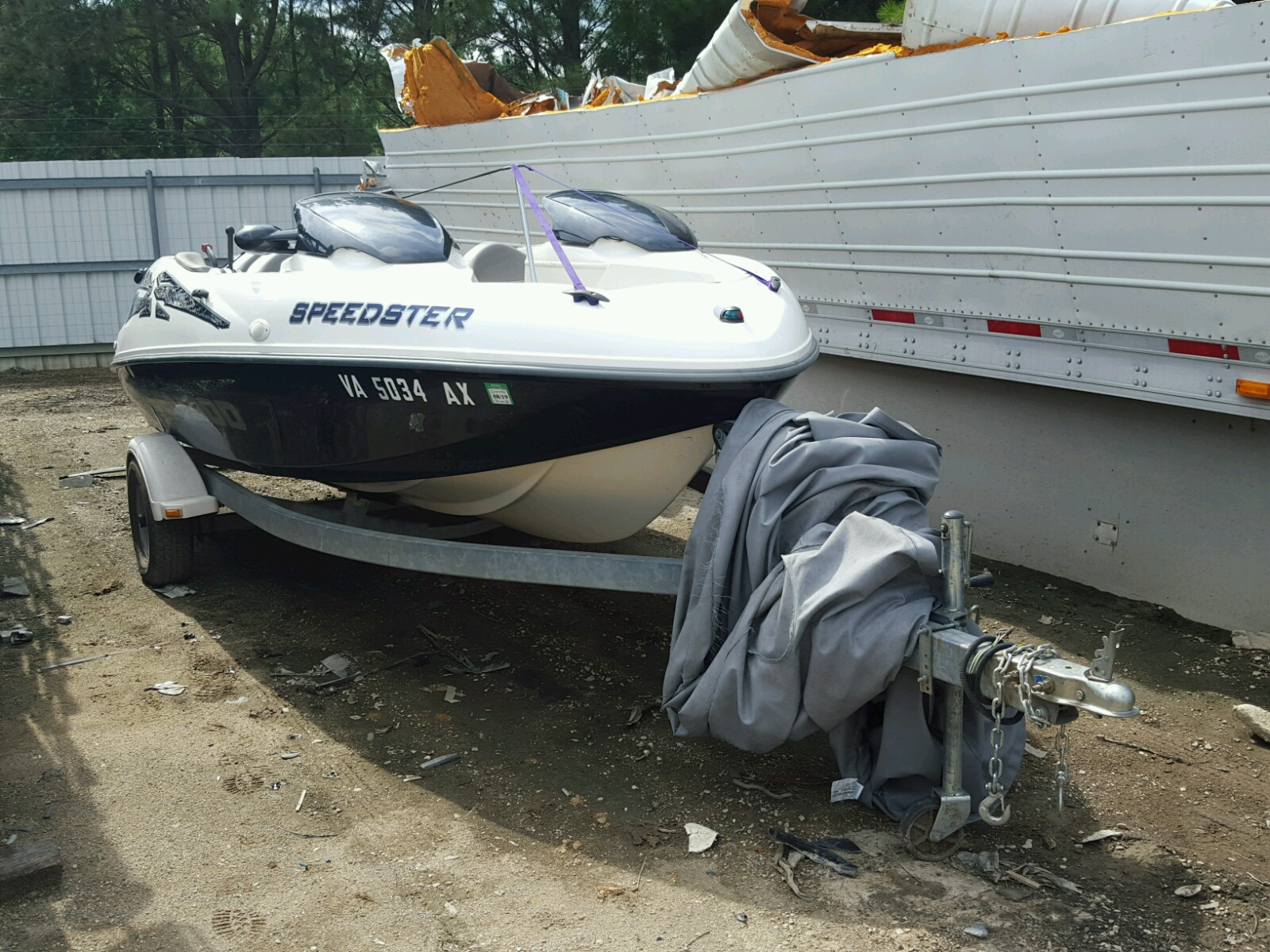 Salvage 2000 Bombardier SPEEDSTER( for sale