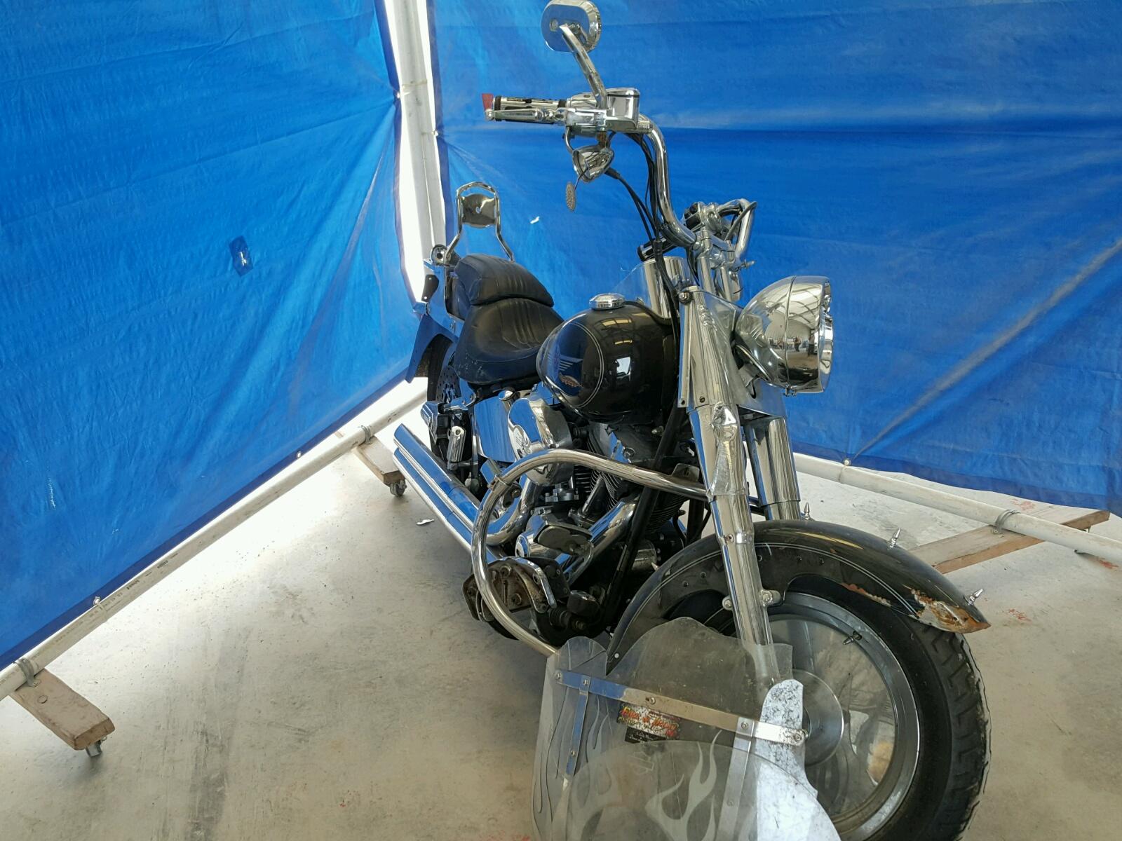 Salvage 2004 Harley-Davidson FLSTFI for sale
