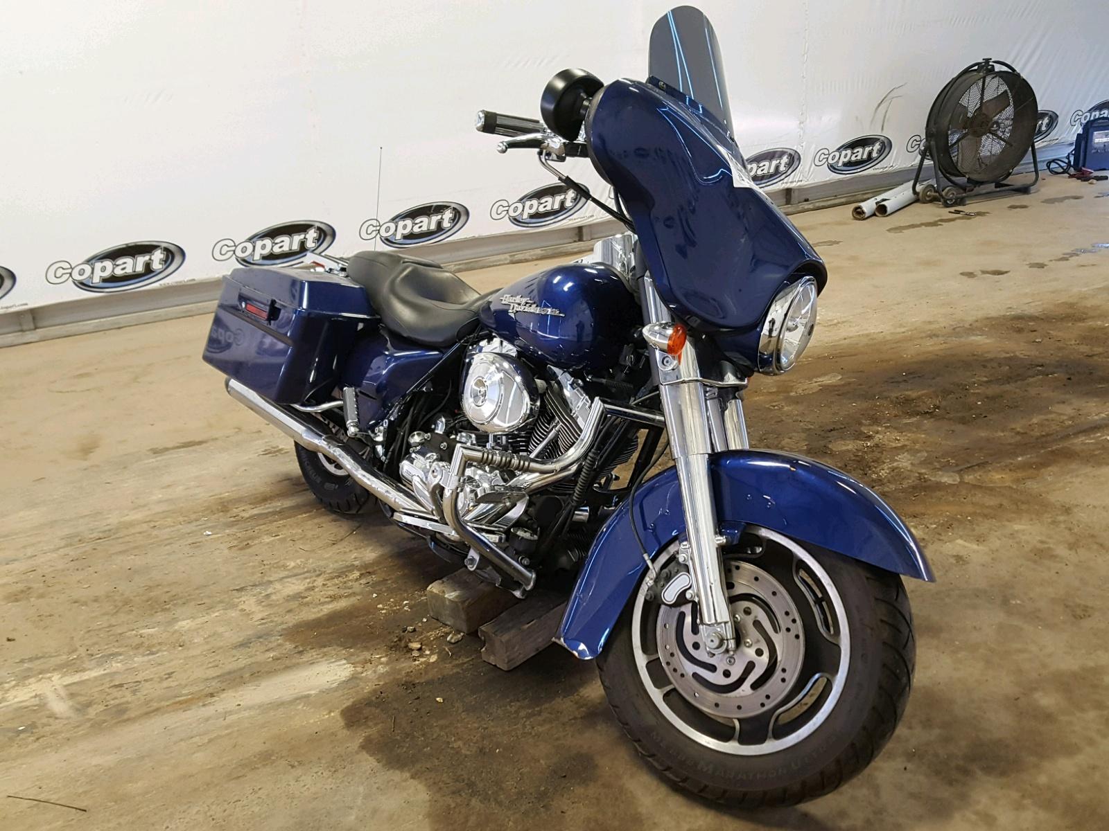 Salvage 2007 Harley-Davidson FLHX for sale