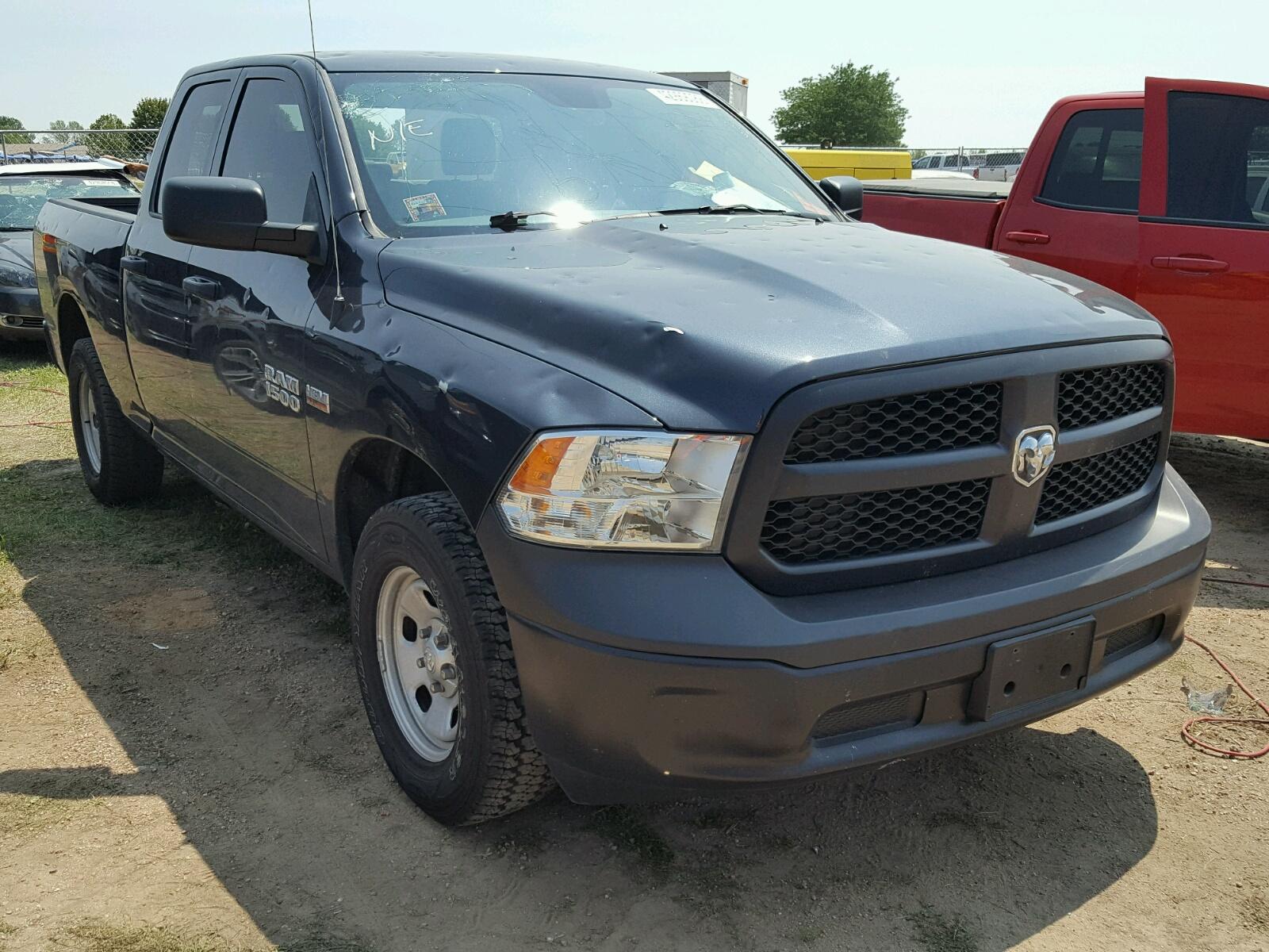 Salvage 2016 Dodge RAM 1500 ST for sale