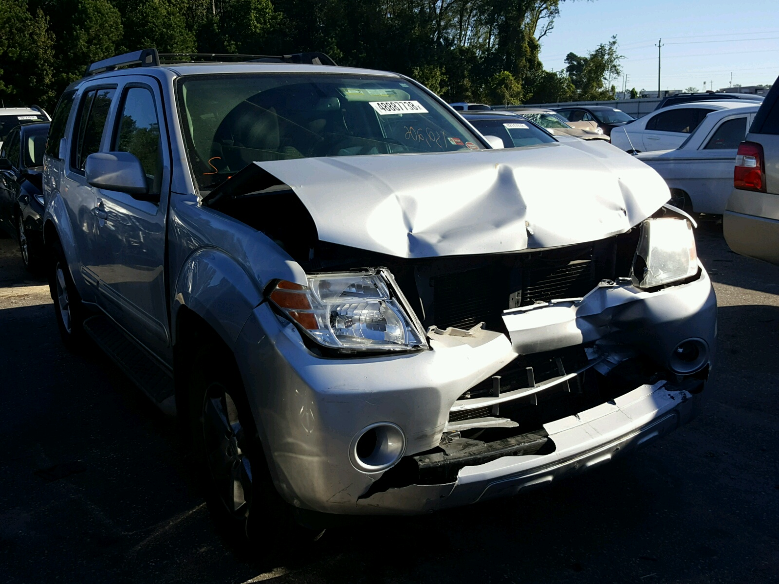 Salvage 2012 Nissan PATHFINDER for sale