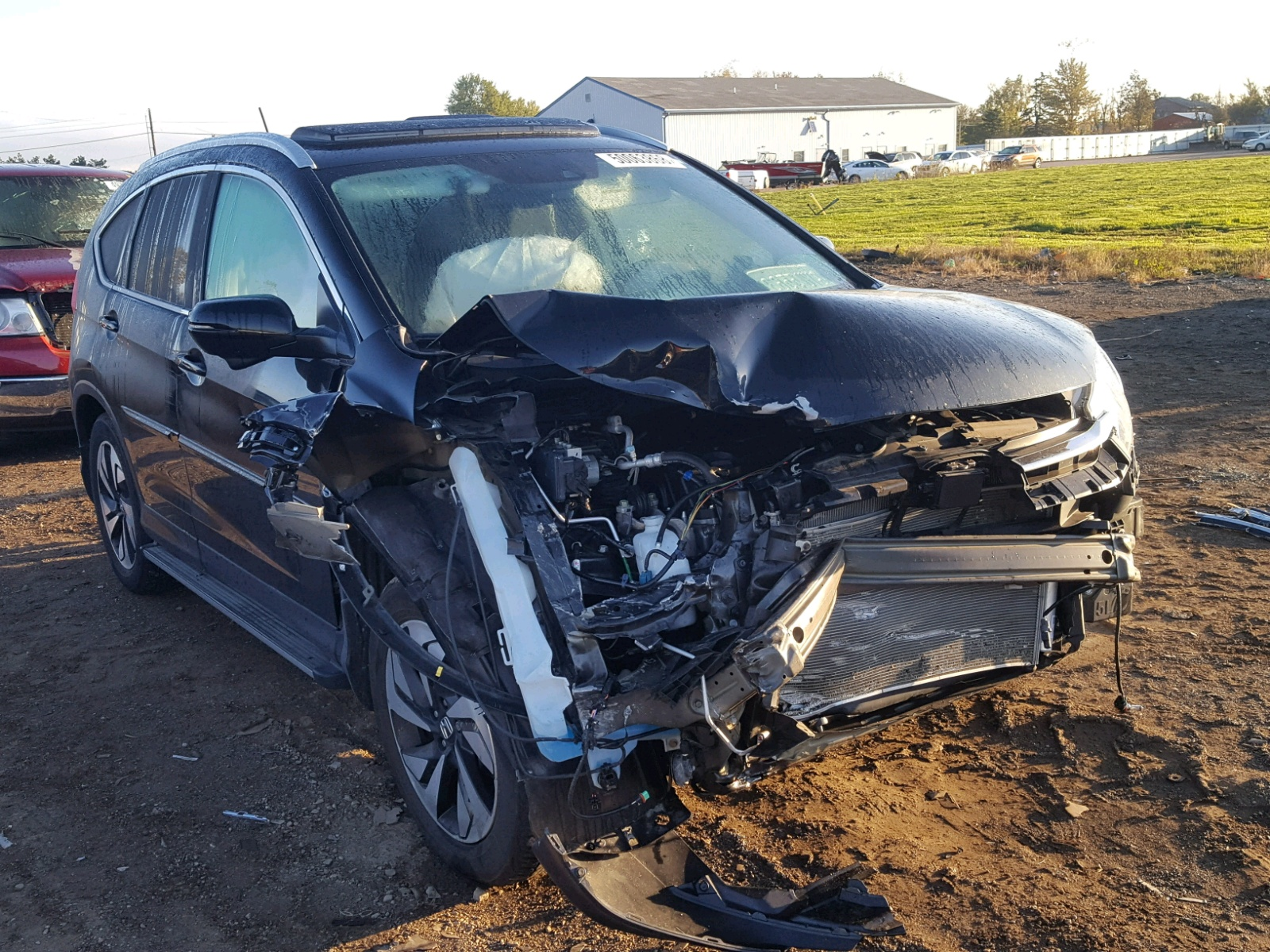 Salvage 2016 Honda CR-V TOURING for sale