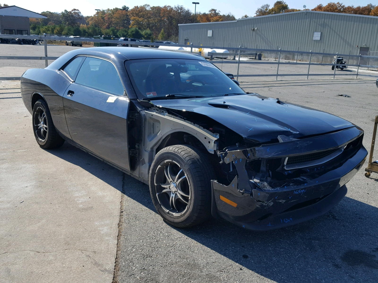 Salvage 2012 Dodge CHALLENGER for sale
