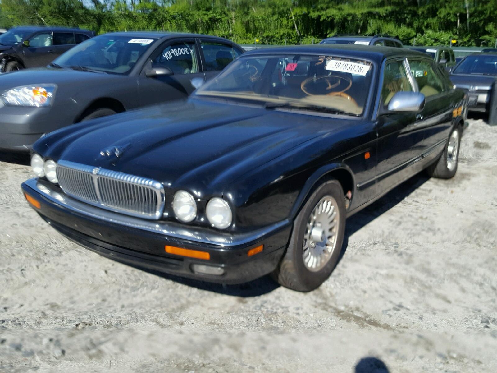 Sajkx6741tc766596 1996 Black Jaguar Vandenplas On Sale In Nh Xj6 Vanden Plas 40l Right View