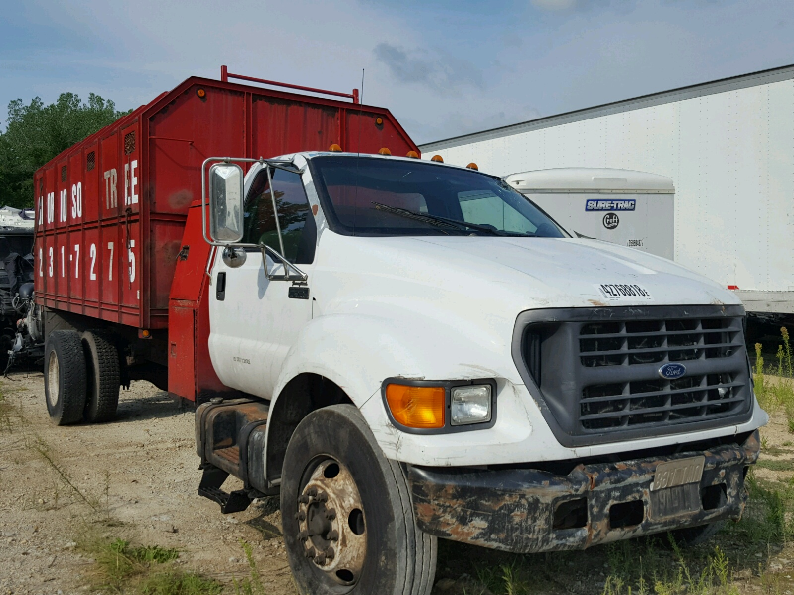 2000 Ford F650 Super For Sale At Copart Kansas City Ks Lot 42768818 Salvagereseller Com