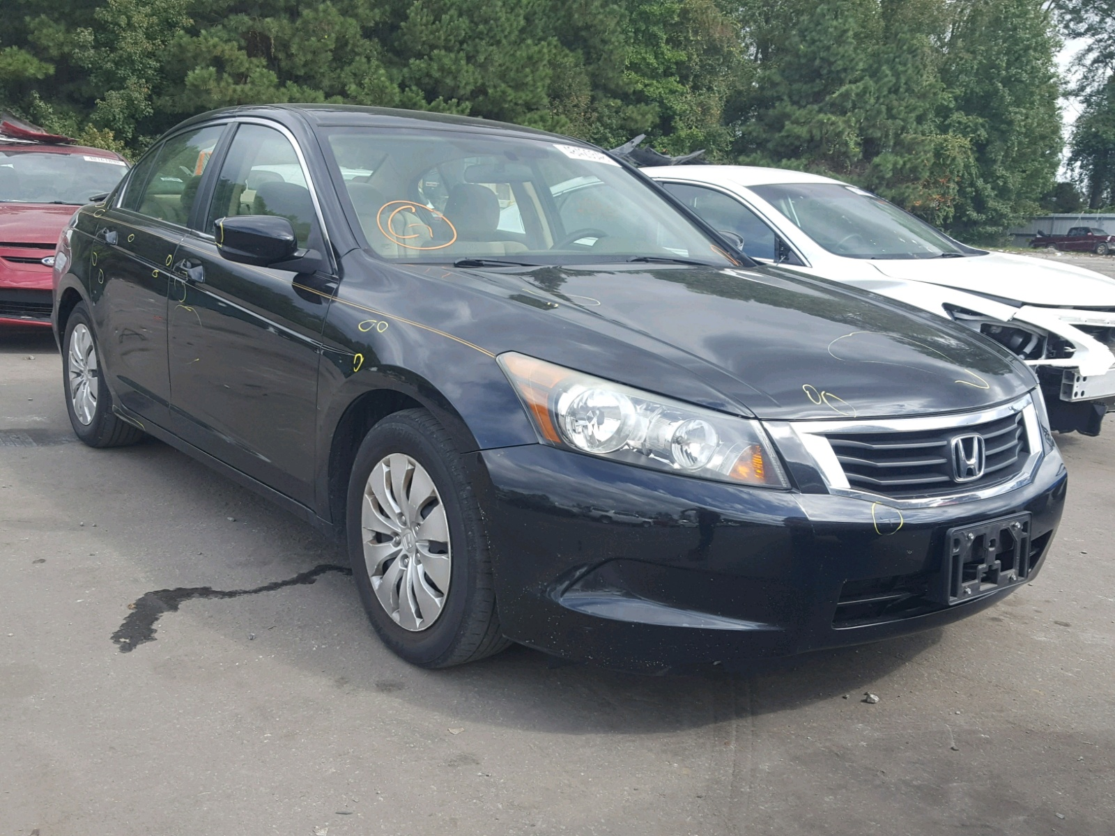 Salvage 2010 Honda ACCORD LX for sale