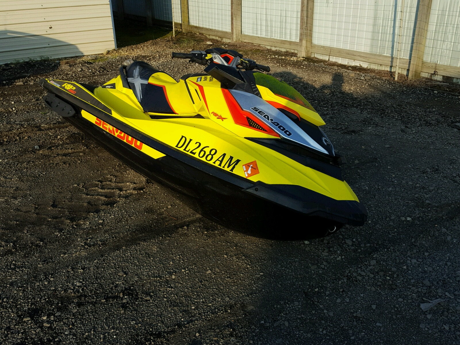 Salvage 2015 Seadoo BOAT for sale