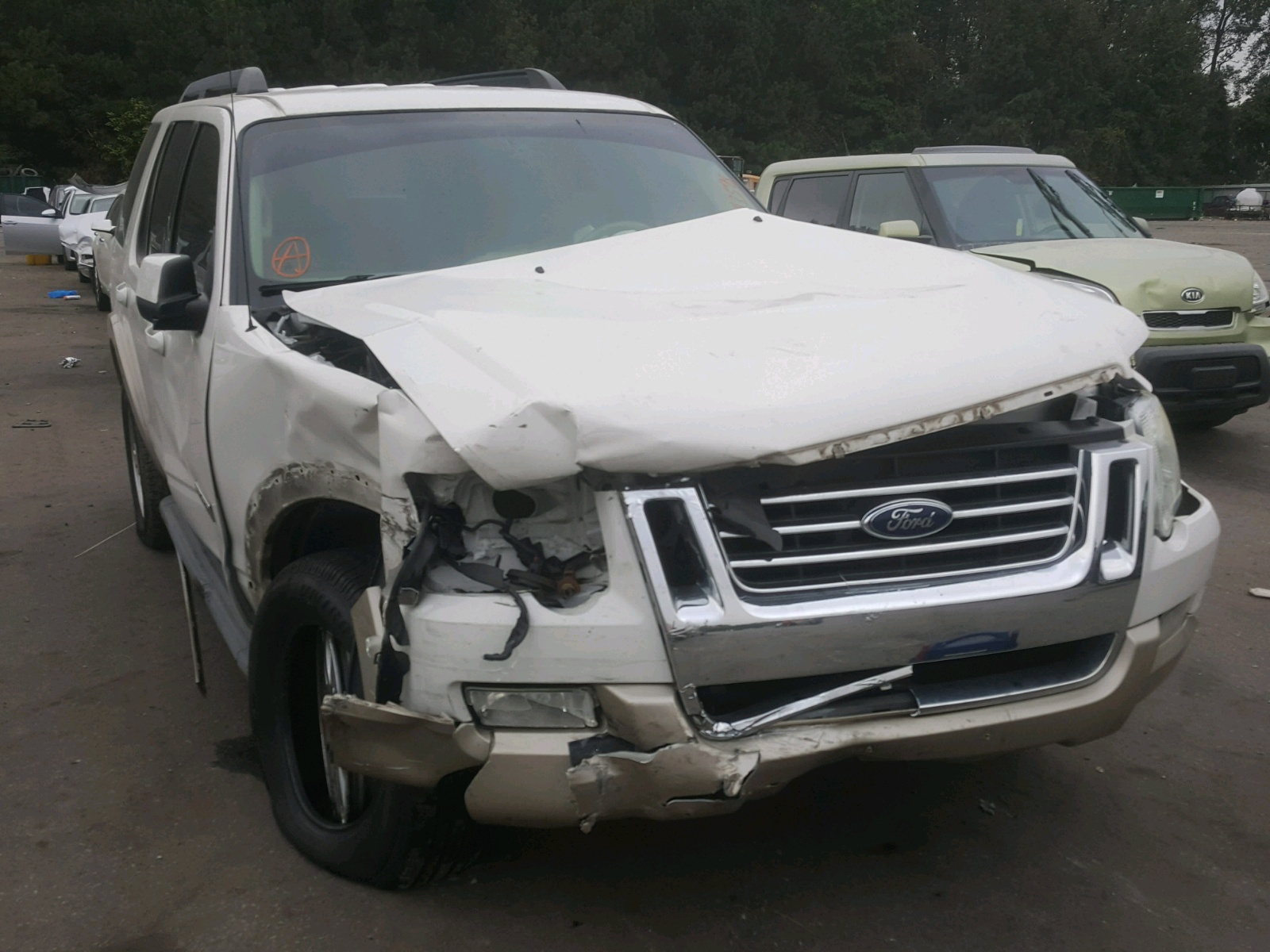Salvage 2008 Ford EXPLORER E for sale