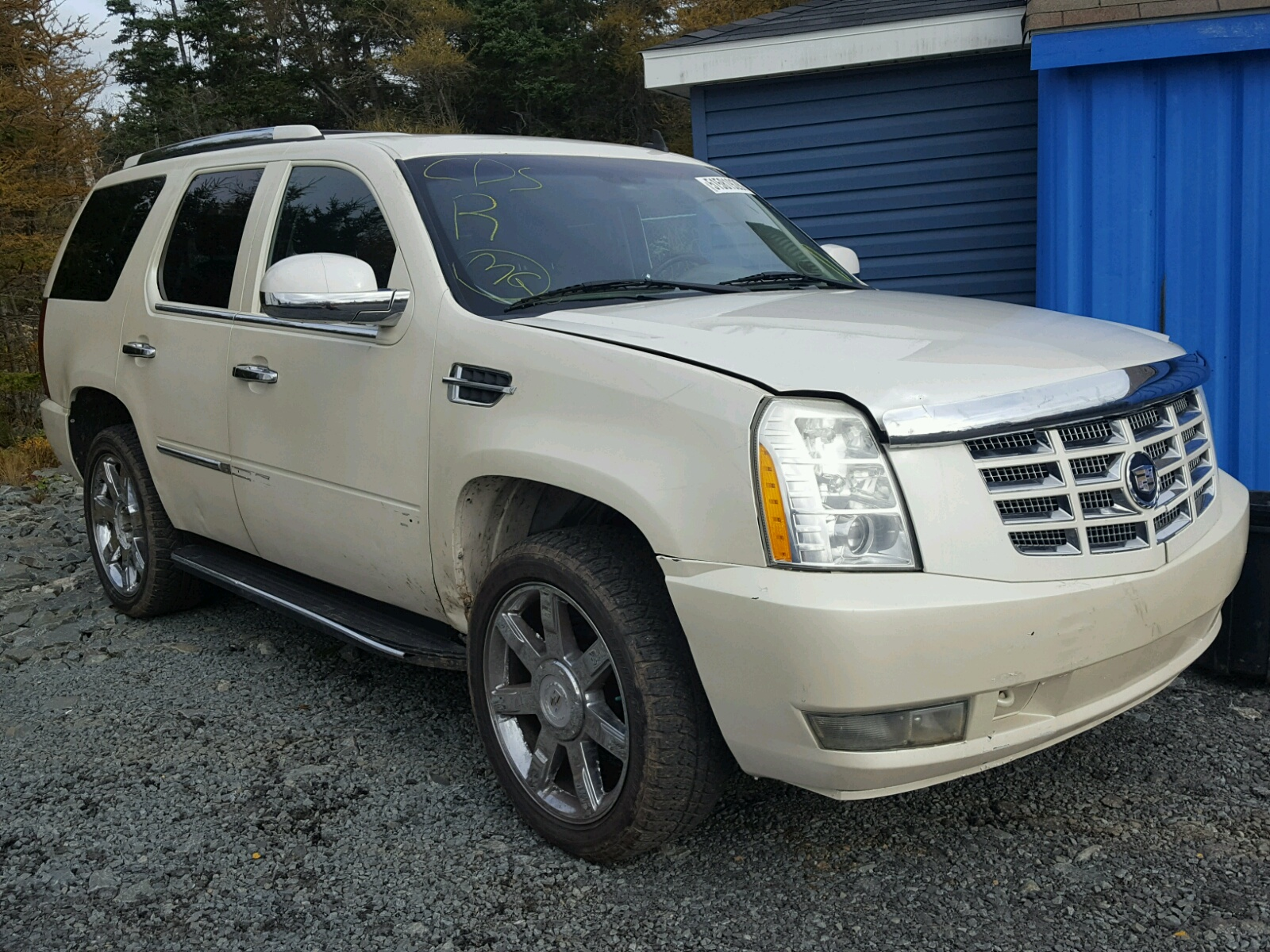 Salvage 2007 Cadillac ESCALADE L for sale