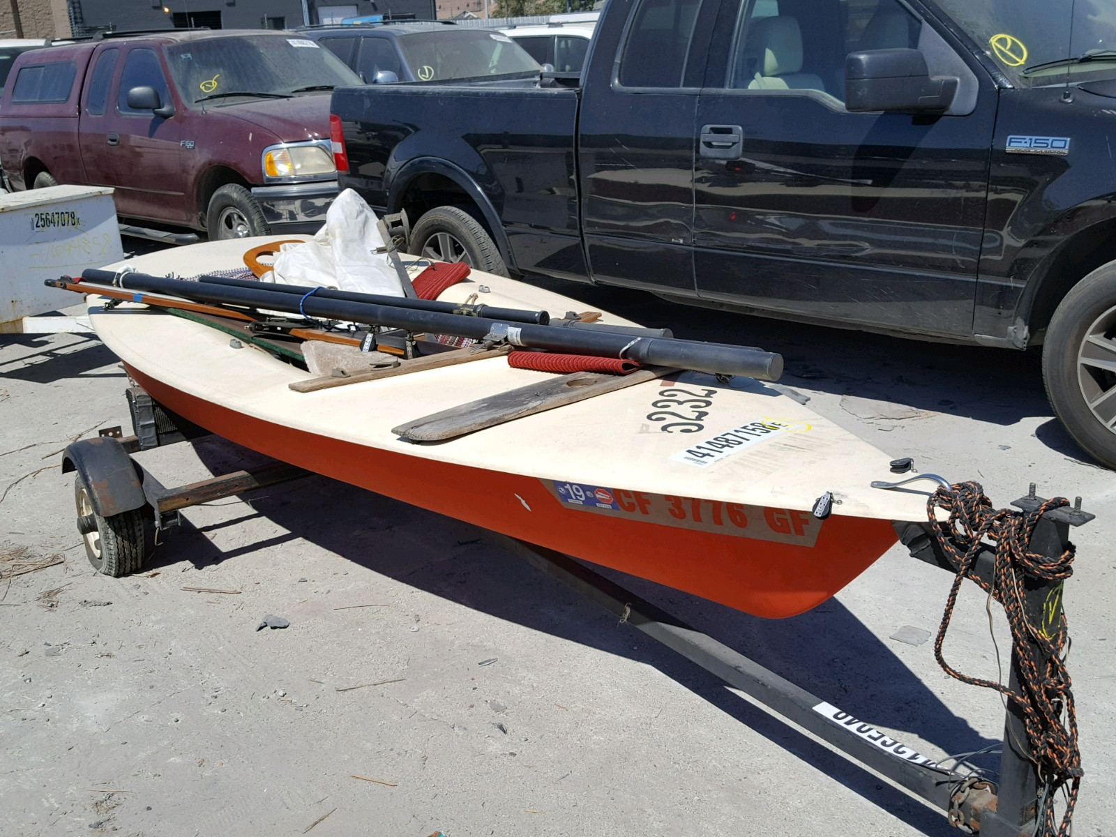 Salvage 1977 Other 12FT BOAT for sale