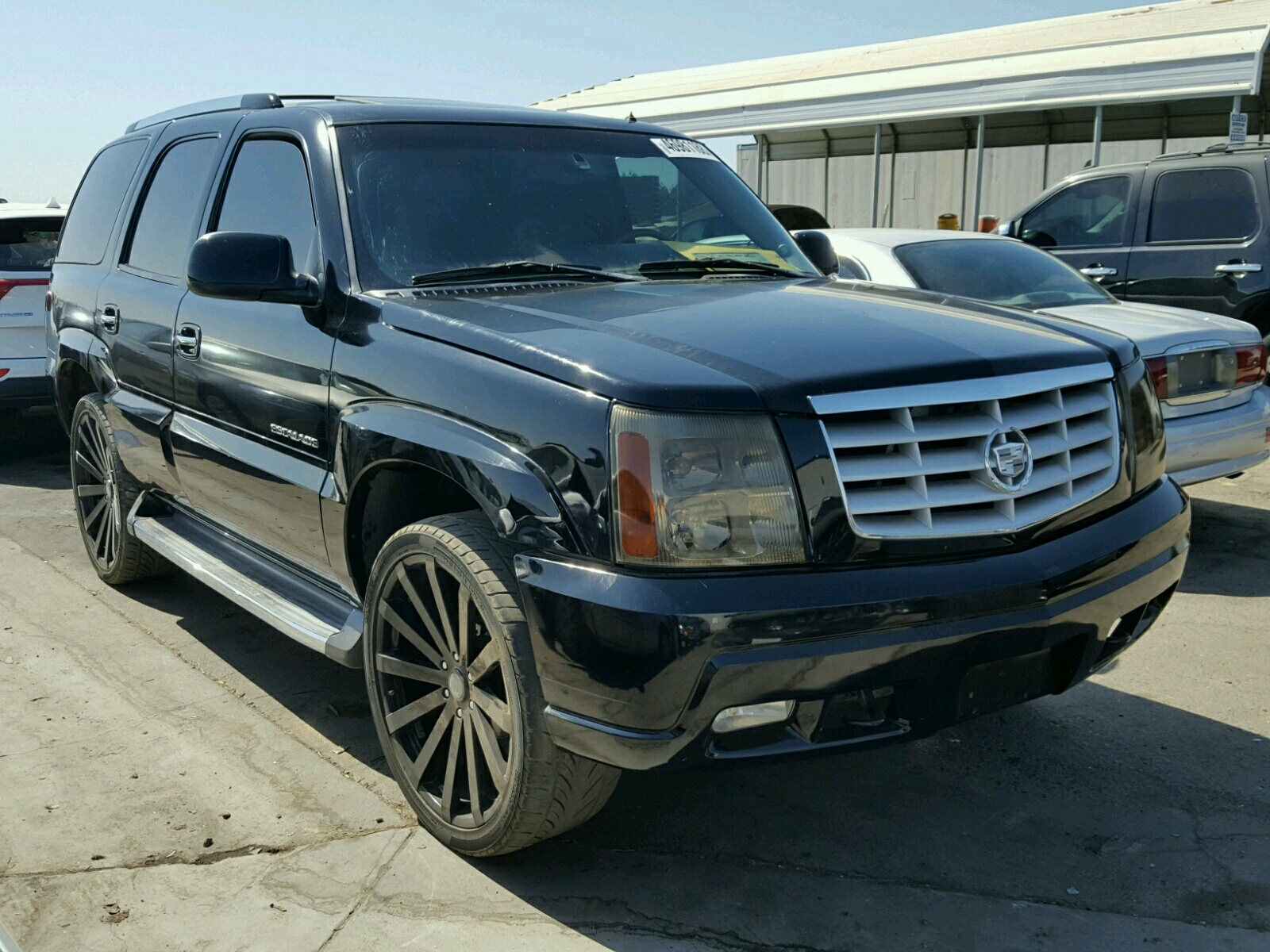 Salvage 2002 Cadillac ESCALADE L for sale