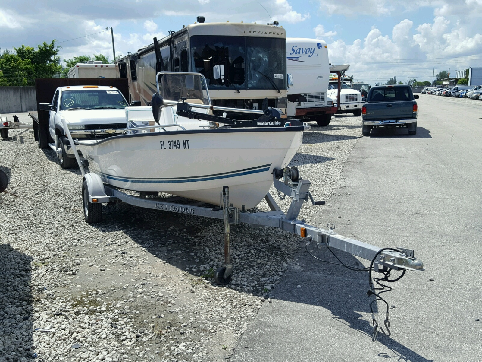 Salvage 2008 Keyl BOAT for sale