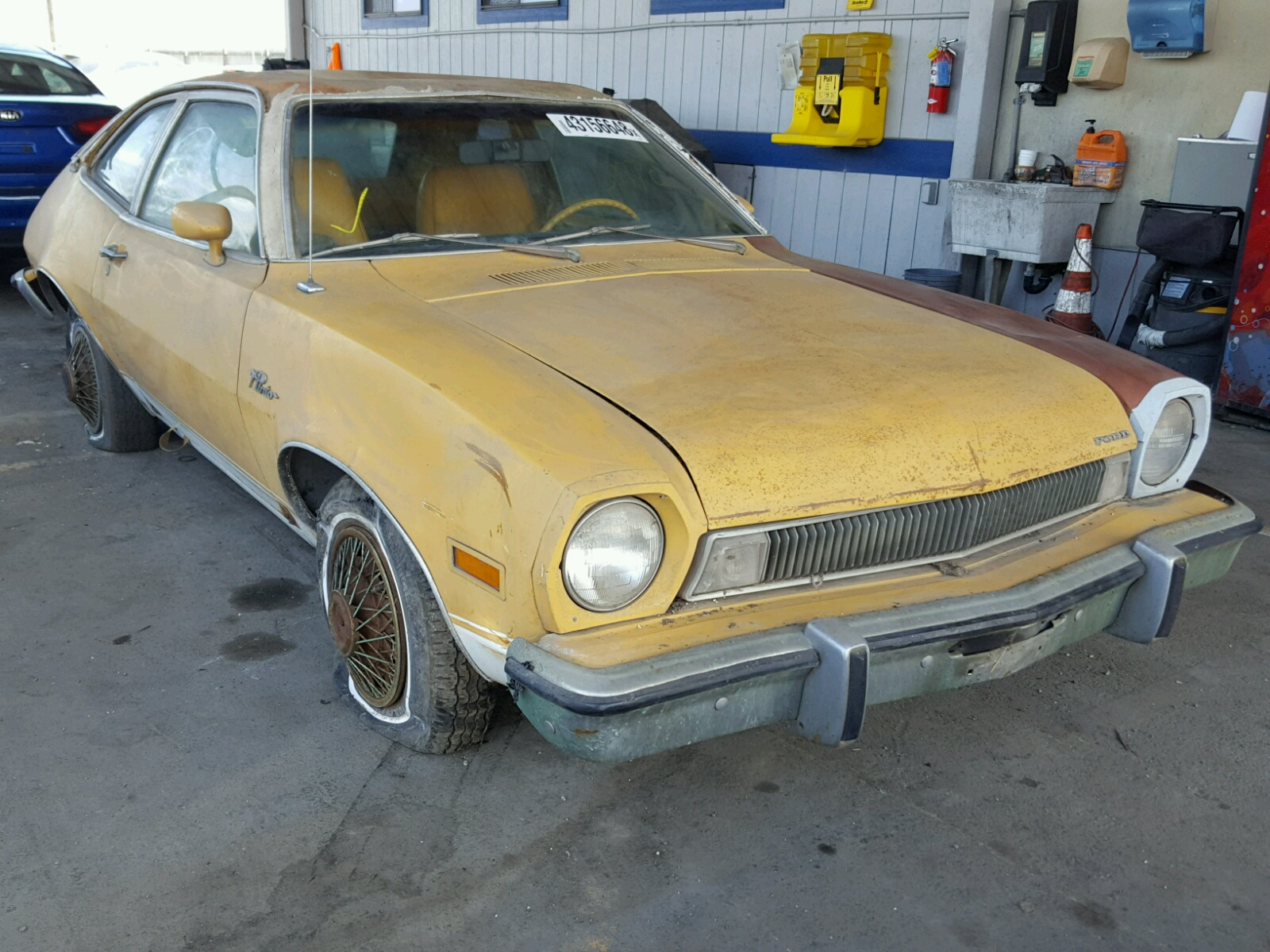 Salvage 1974 ford pinto for sale