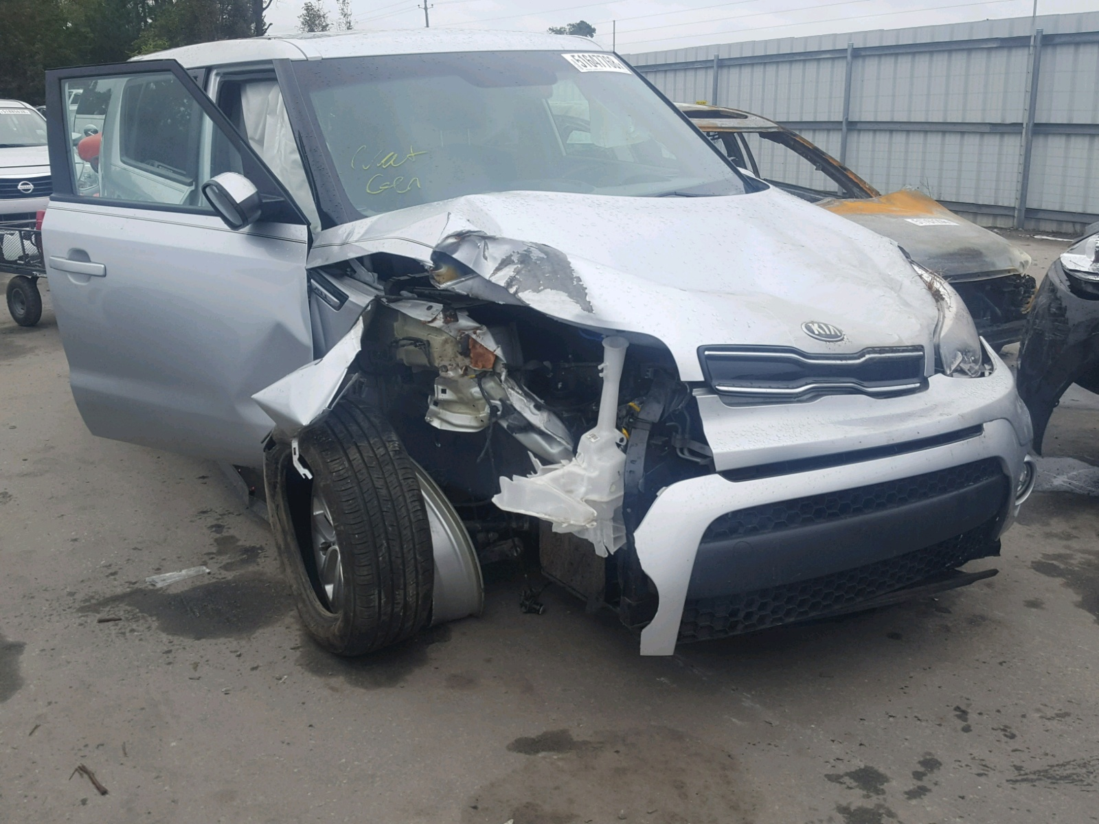 Salvage 2017 KIA SOUL + for sale