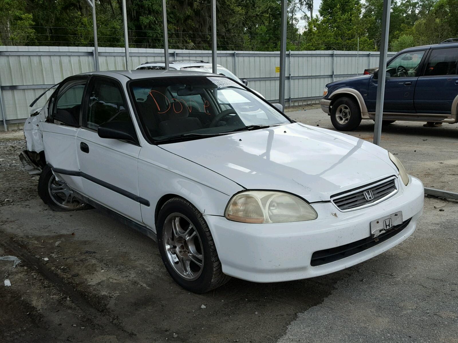 1hgej6672tl057315 1996 White Honda Civic Lx On Sale In Ga 16l Left View
