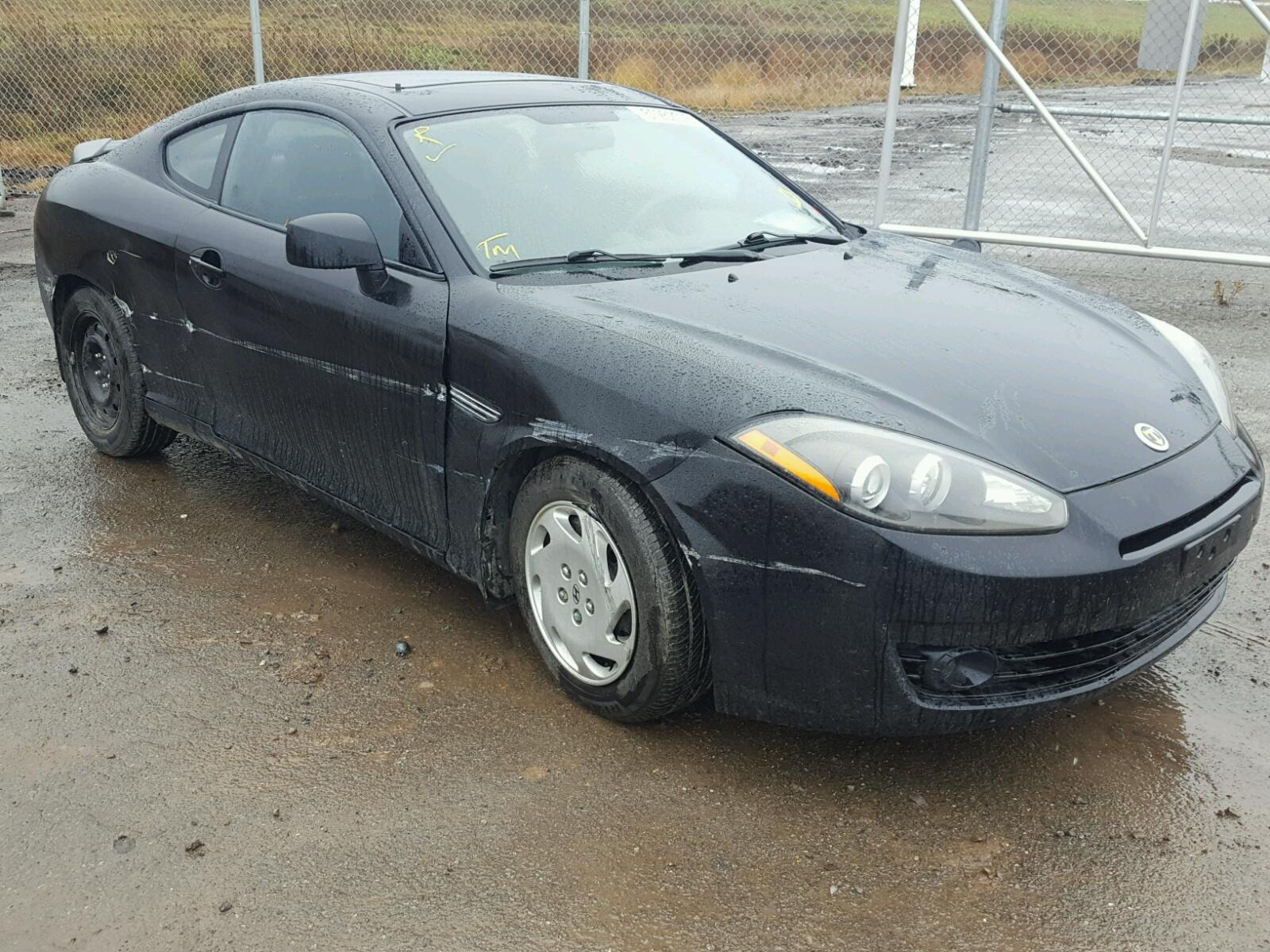 Salvage 2008 Hyundai TIBURON GS for sale