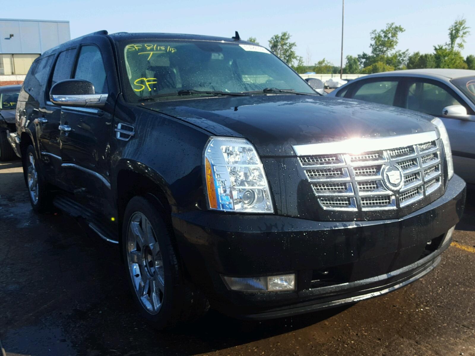 Salvage 2013 Cadillac ESCALADE E for sale
