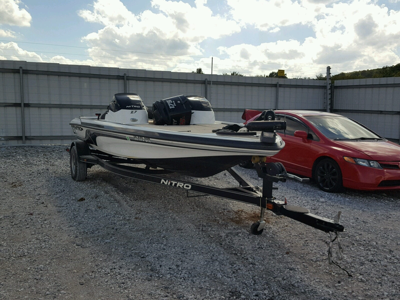 Salvage 2014 Nitrous BOAT for sale