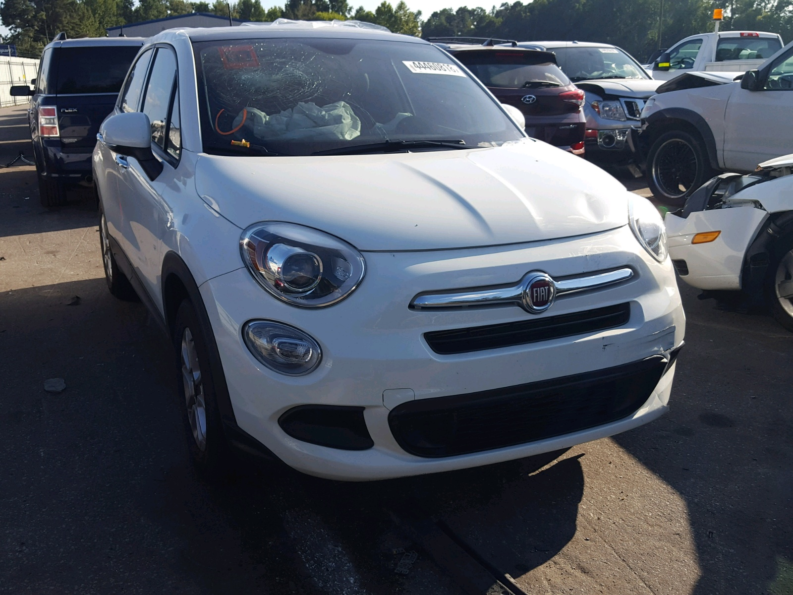 Salvage 2017 Fiat 500X POP for sale