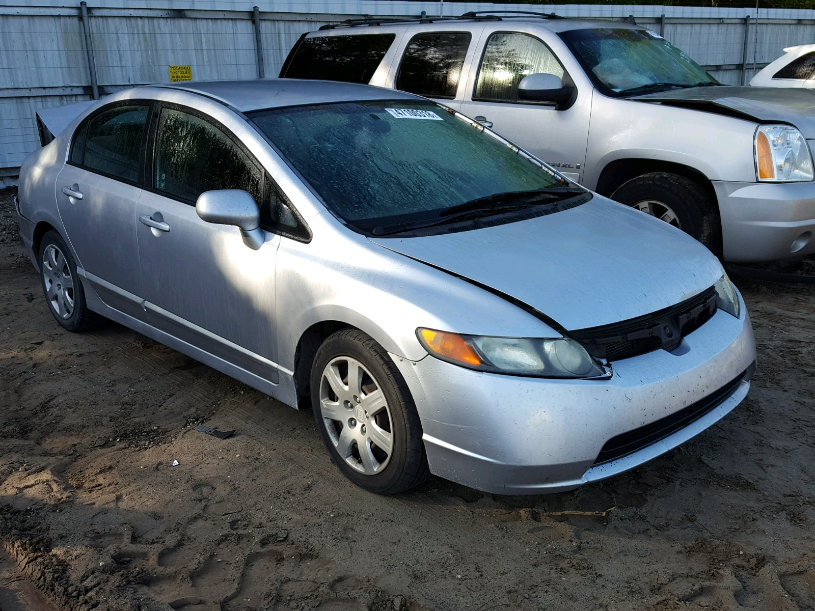 Salvage 2008 Honda CIVIC LX for sale