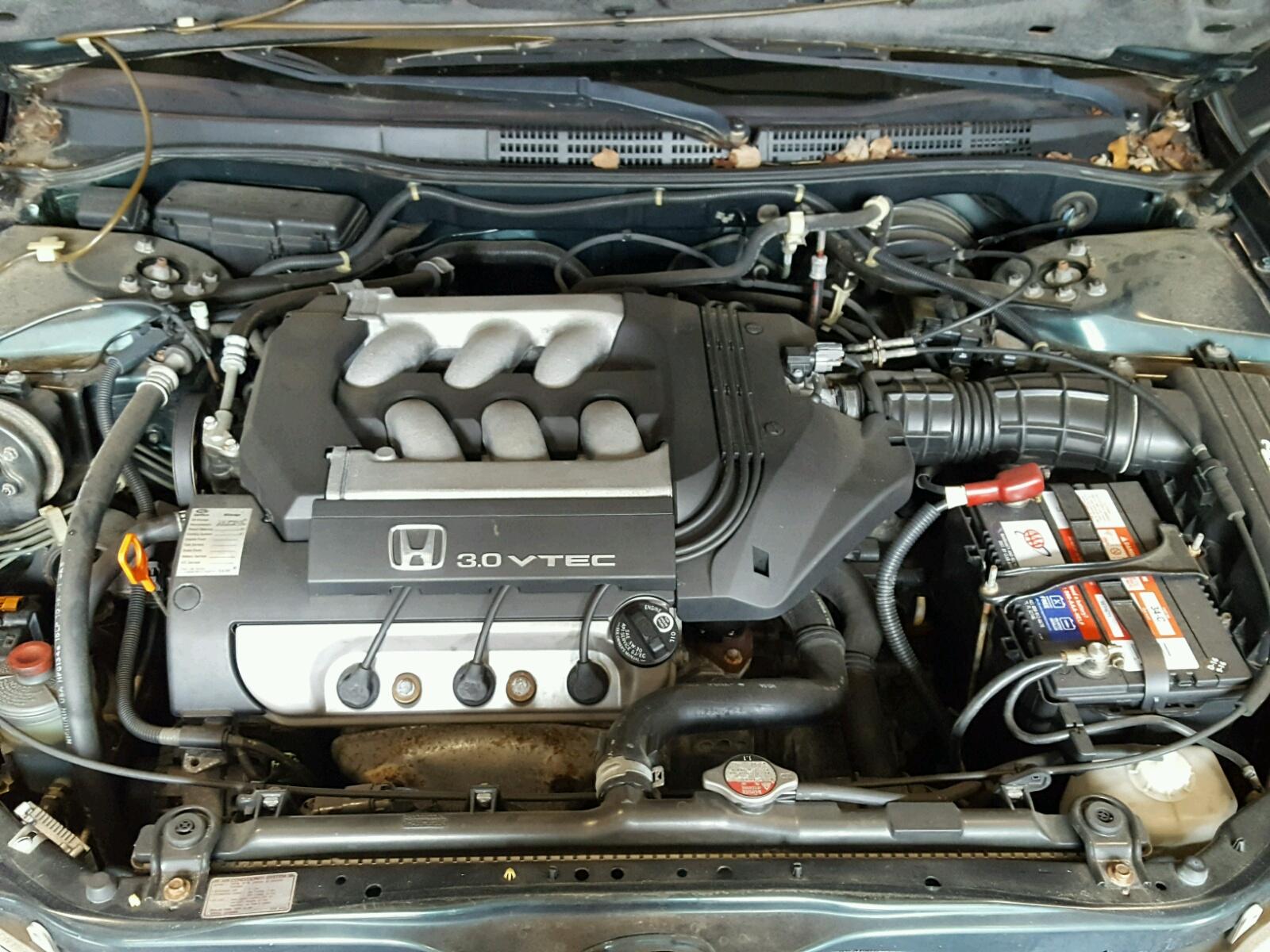 1hgcg1654xa016371 1999 Green Honda Accord Ex On Sale In Va Vtec Engine 30l Inside View
