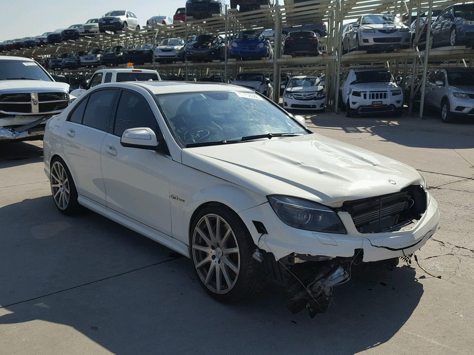 Salvage 2009 Mercedes-Benz C 63 AMG for sale