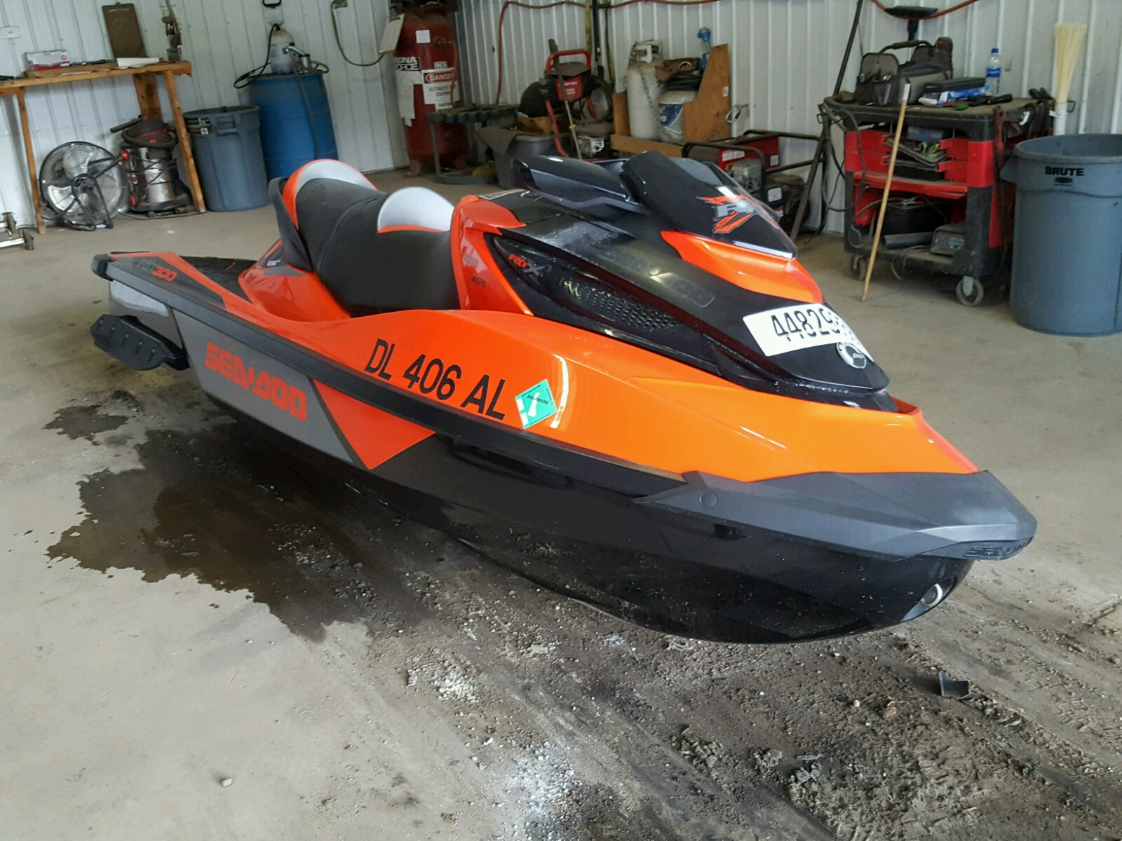Salvage 2017 Seadoo RXT for sale