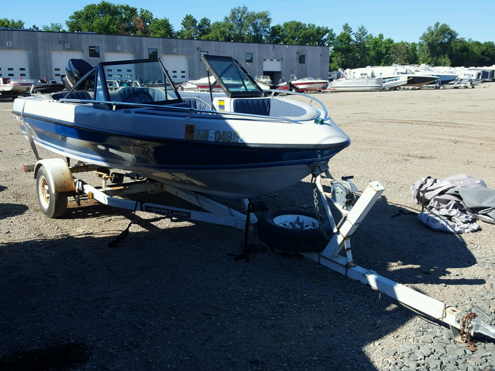 Salvage 1985 Forc BOAT for sale