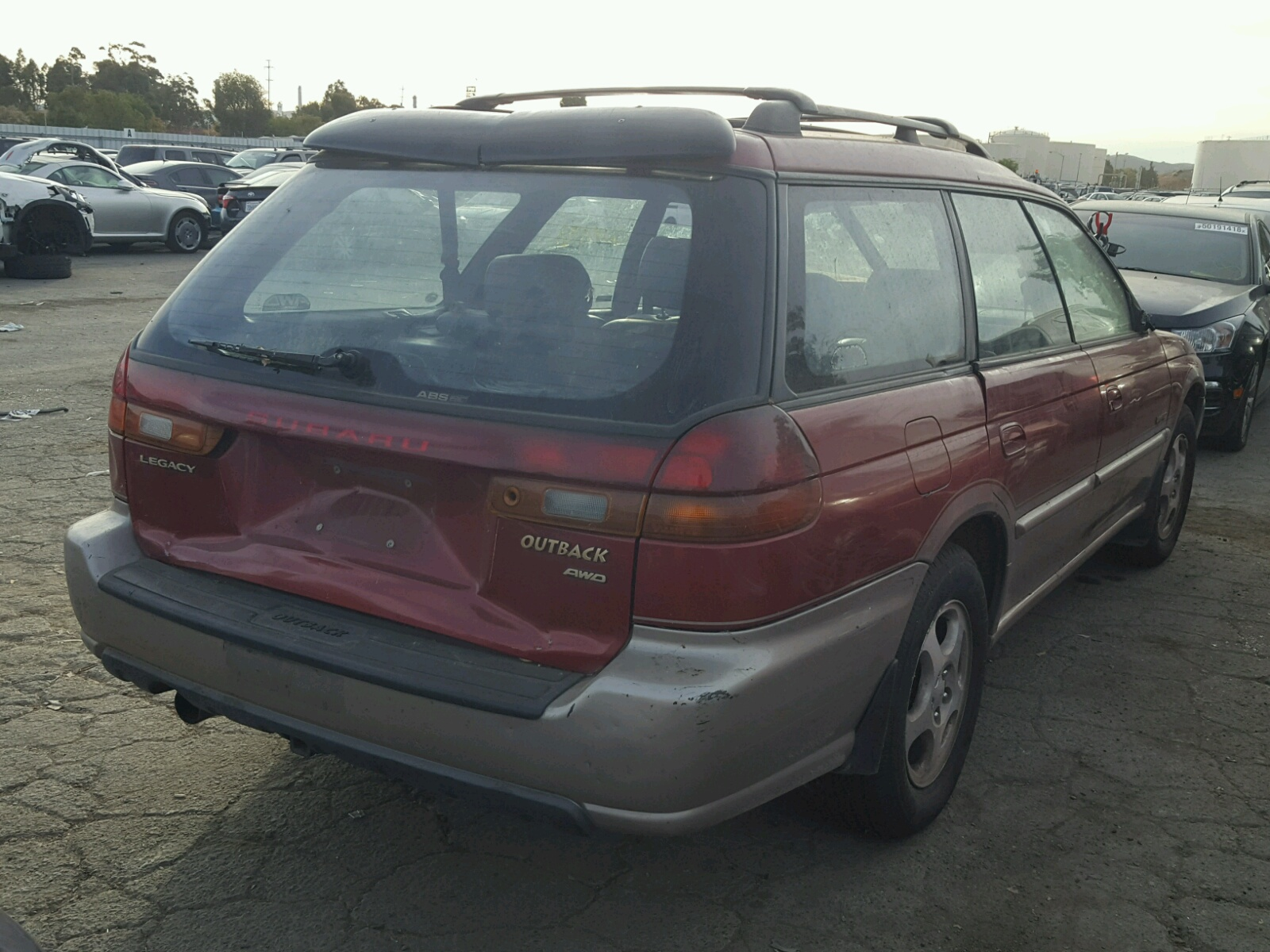 1998 Subaru Legacy 30t For Sale At Copart Martinez Ca Lot 49273348 Outback
