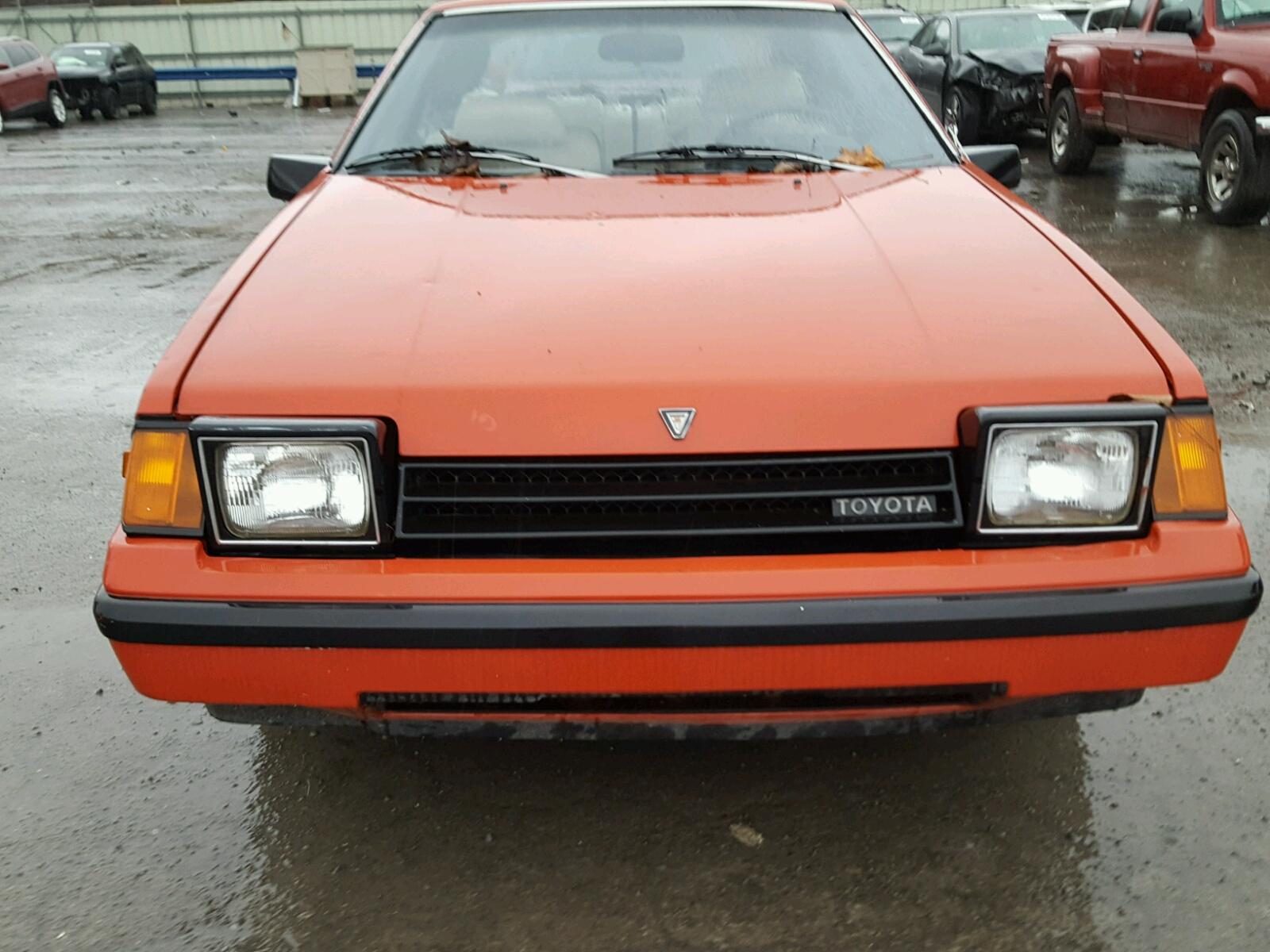 Auto Auction Ended On Vin Jt2ra64l6d6114186 1983 Toyota Celica Gt Gts 24l Engine View