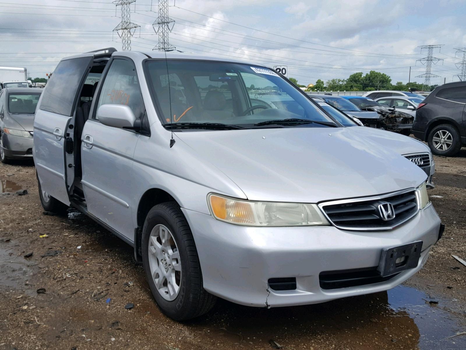 Salvage 2004 Honda ODYSSEY EX for sale