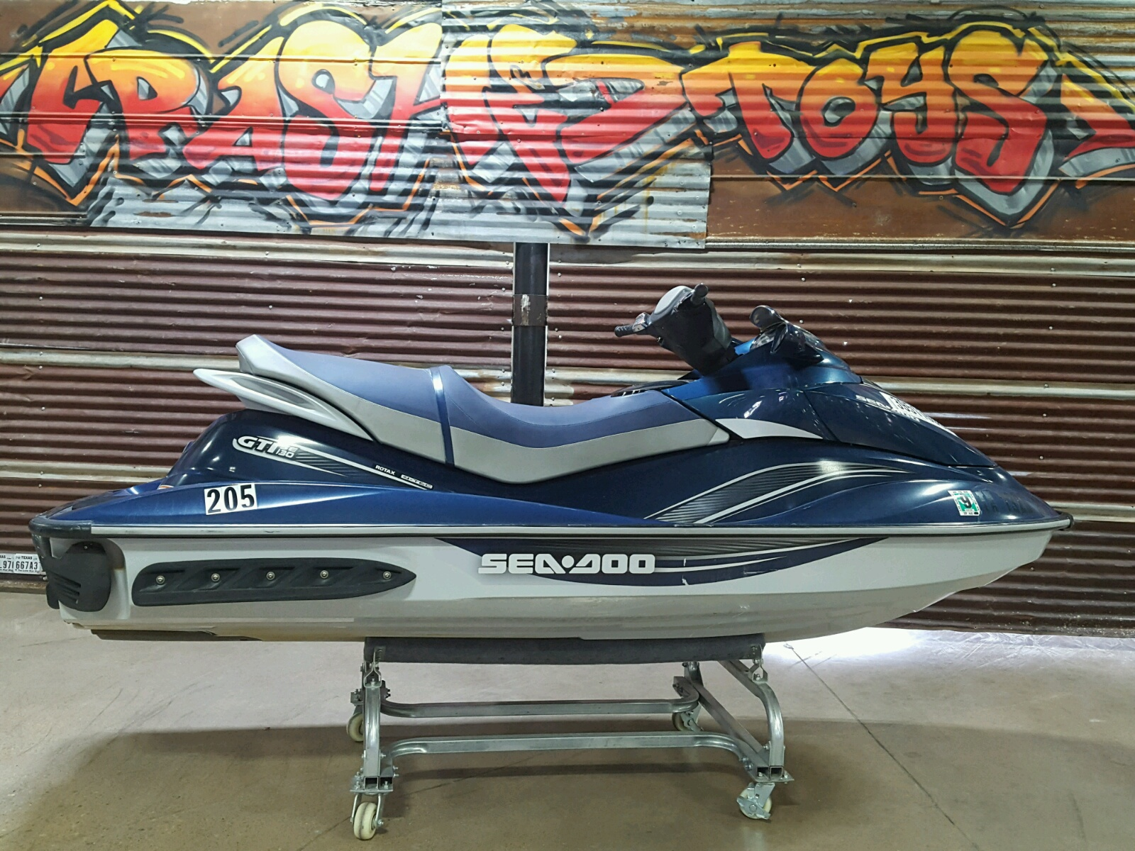 Salvage 2009 Seadoo GTI 130 for sale