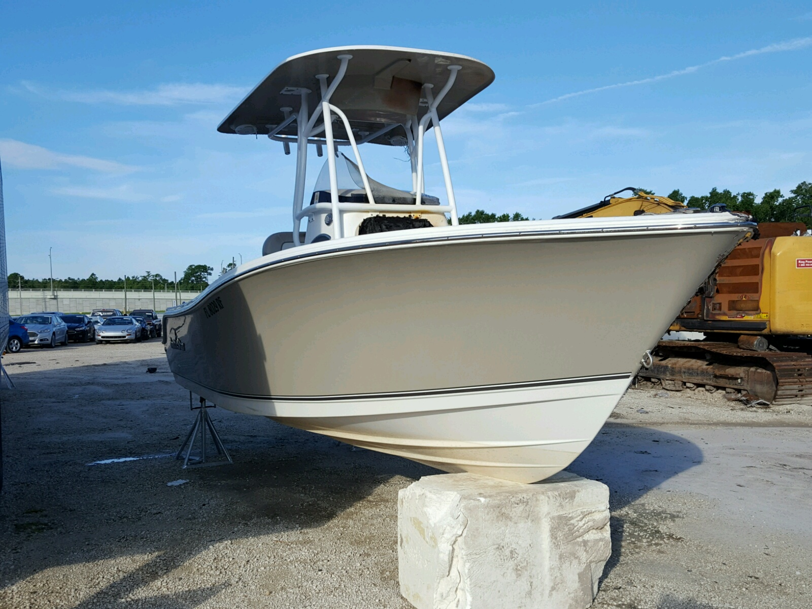 Salvage 2017 Nauticstar BOAT22XSFS for sale