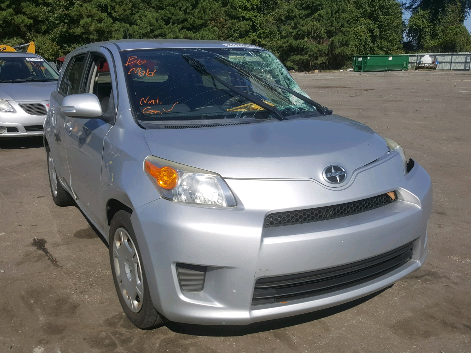 Salvage 2012 Scion XD for sale