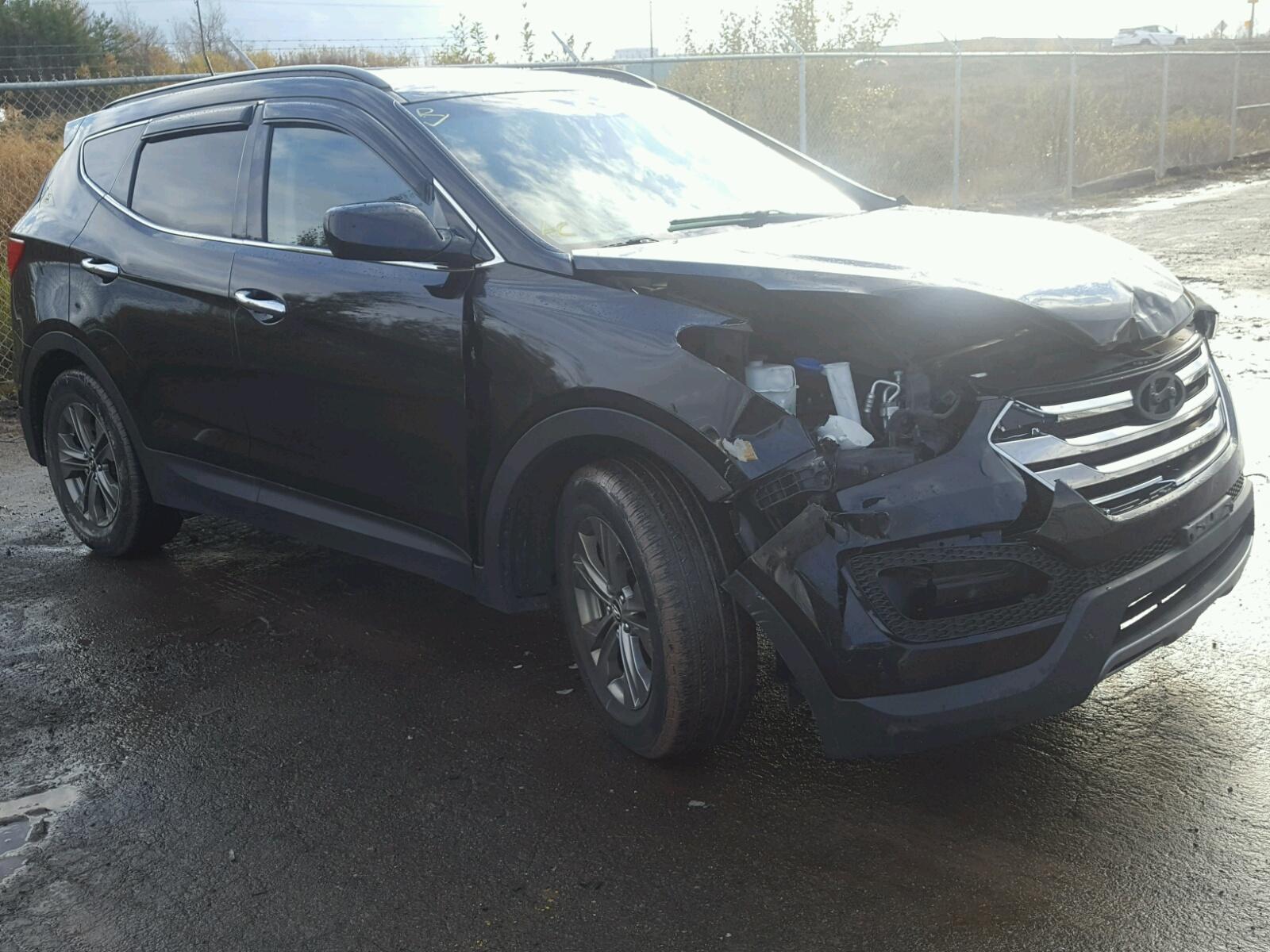 Salvage 2014 Hyundai SANTA FE S for sale