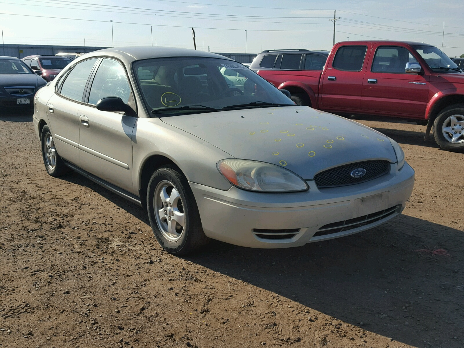 2007 Ford Taurus SE for sale at Copart Brighton CO Lot