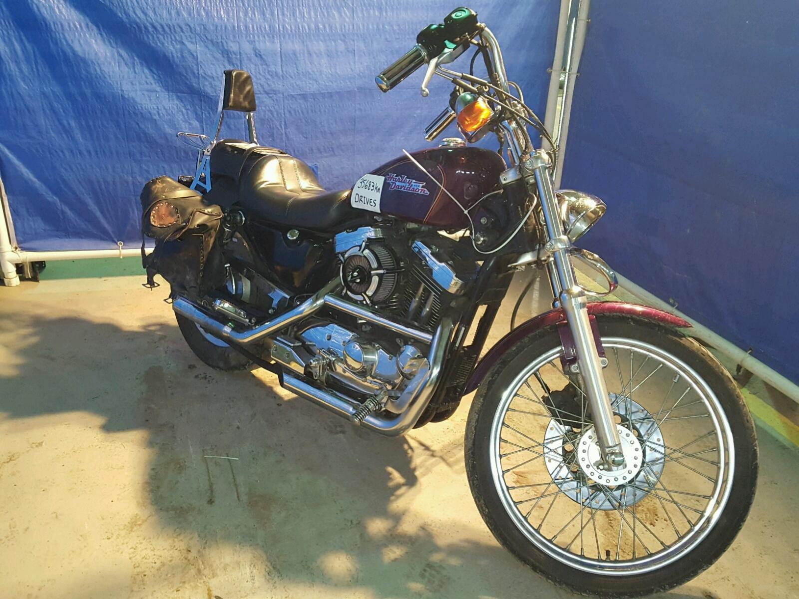 Salvage 1996 Harley-Davidson XL1200 C for sale