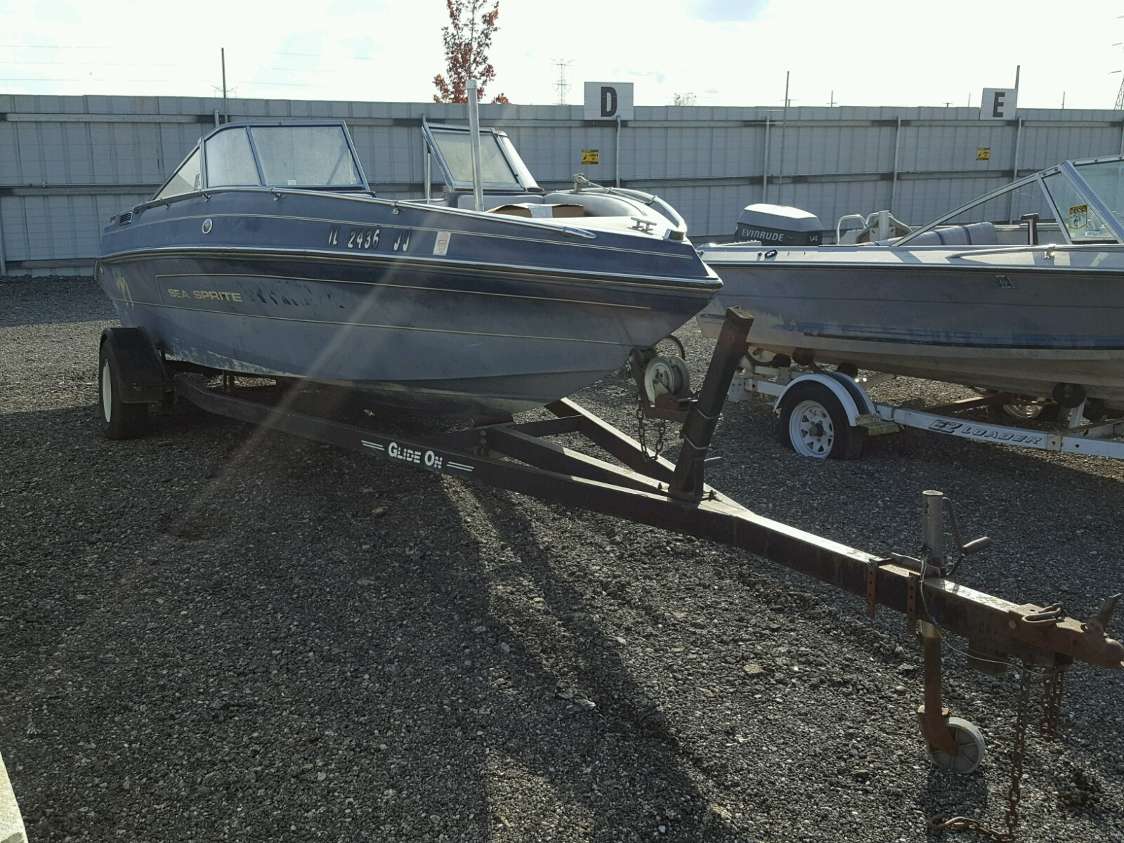 Salvage 1993 Sea Ray BOAT for sale