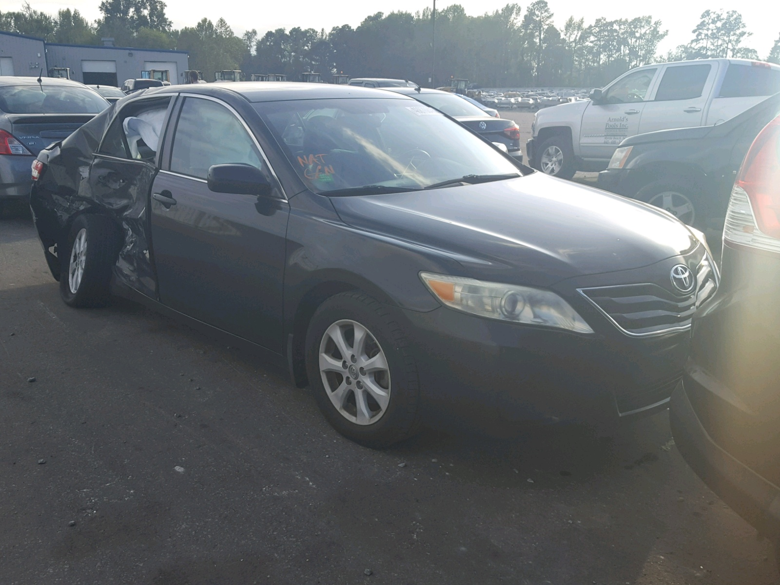 Salvage 2010 Toyota CAMRY BASE for sale