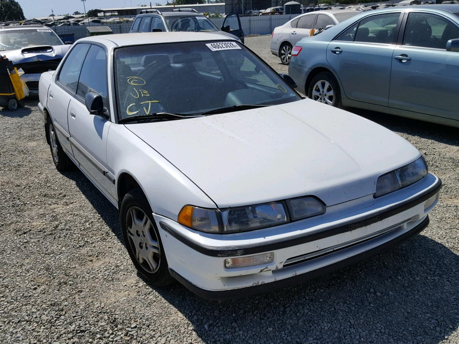 Acura Integra LS For Sale At Copart Antelope CA Lot - 1990 acura integra rims