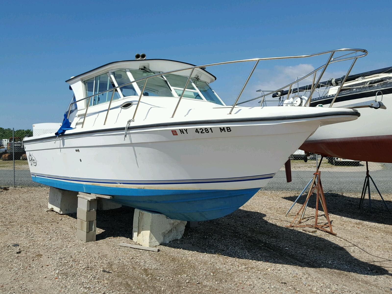 Salvage 2005 Baja BOAT for sale